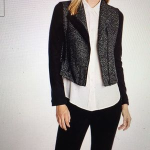 NWT Hazel women's textured Moto jacket